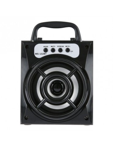 MS - 132BT Large Output Wireless Bluetooth Square Speaker