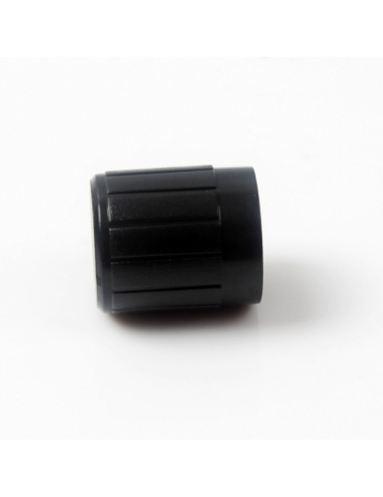 10PCS  Black Plastic Potentiometer Knob 6mm Shaft Hole